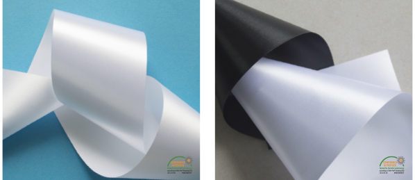 Polyester Satin for Printed Labels