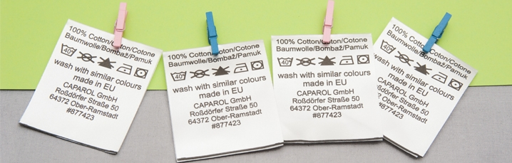 durable printed fabric labels.  How to know how many washes will your printed fabric label resist?