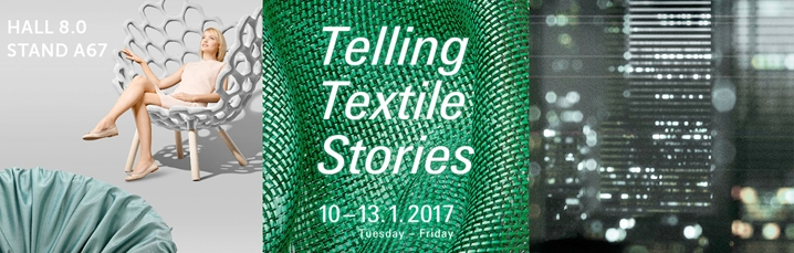 News feed from Heimtextil 2017. The biggest international fair for home and contract textiles