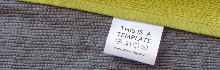 Free PSD Mock-ups for best visualisation of your fabric labels and tags