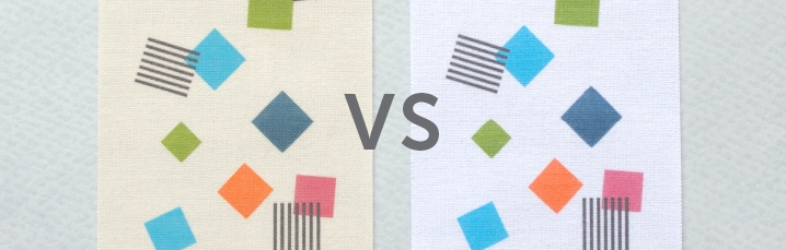 The Versus blog! Make an informed decision between different options for printing the same label