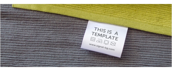 Free PSD Mock-ups for best visualisation of your fabric labels